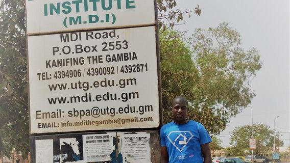 Unser Crowdfunding für zwei Ausbildungsplätze in Gambia läuft!