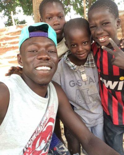 Unterstützung für Familie Alieu Darboe