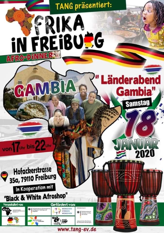 Länderabend Gambia am 18.1.20