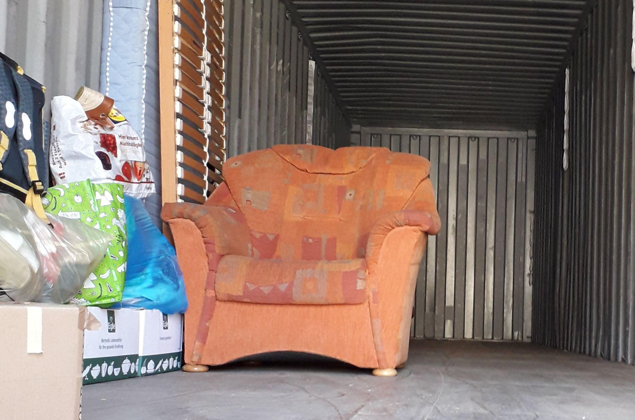 Containern für Gambia