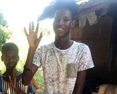 Hilfe für einen tuberkulosekranken Jungen
