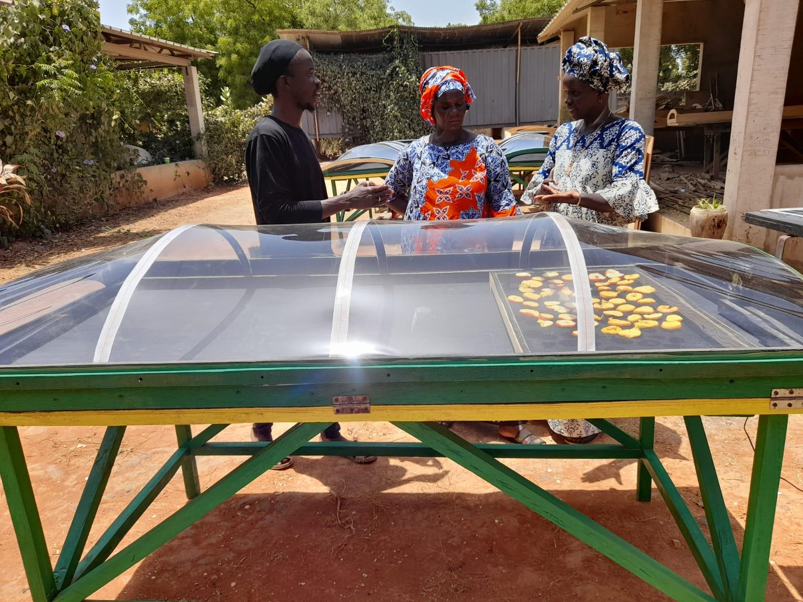 Mangos zur Selbsthilfe – Spenden für Tunneltrockner
